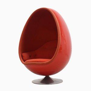 Ovalia Egg Chair von Thor Larsen für Torlan Staffanstorp, 1960er