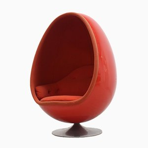 Ovalia Egg Lounge Chair by Thor Larsen for Torlan Staffanstorp, 1960s