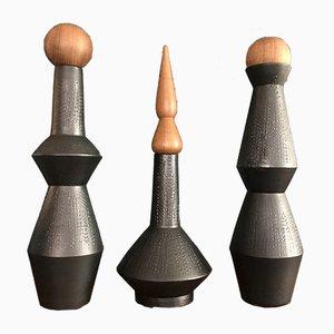 Ceramic Vases by Capperidicasa, Set of 3