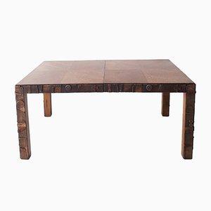 Table de Salle à Manger Brutaliste de Lane Furniture, 1960s