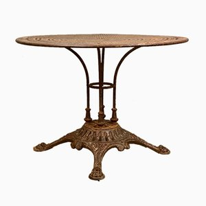 Antique French Garden Table by E.W.Depose