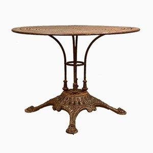 Tavolo da giardino antico di E.W. Depose, Francia