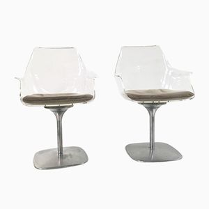 Airline Swivel Chairs from Rausch, 1970s, Set of 2