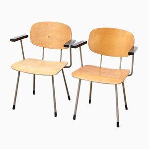 Modell 216 Sessel von Wim Rietveld für Gispen, 1953, 2er Set