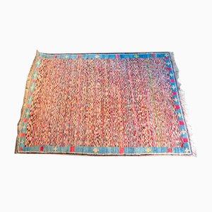 Alfombra vintage de lana multicolor