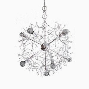 Lámpara de araña Sputnik italiana de Gaetano Sciolari