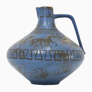 Jarrón Pergamon de Hans Welling para Ceramano, años 60