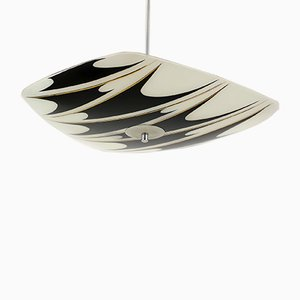 Mid-Century Patterned Ceiling Lamp from Napako