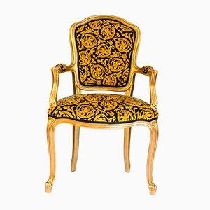 Chaises Style Rococo Vintage, 1970s, Set de 4