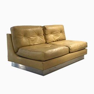Französisches 2-Sitzer Sofa von Jacques Charpentier, 1970er