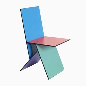 Chaise Vilbert par Verner Panton pour IKEA, 1993