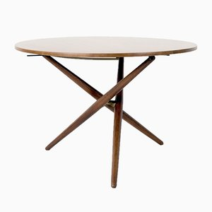 Vintage Swiss Table by Jürg Bally for Wohnhilfe, 1950s