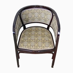 Antique Art Nouveau Armchair from Thonet