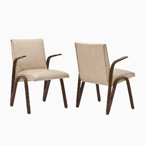 Armchairs by Paul Bode for Deutsche Federholzgesellschaft, 1955, Set of 2