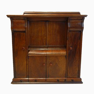 Antique Cabinet with Sewing Machine from Singer, 1915