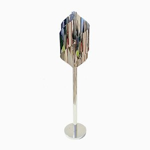 Sculptural Chromed Floor Lamp from Reggiani, 1960s