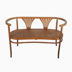 Panca in legno curvato di Michael Thonet per Thonet, 1904