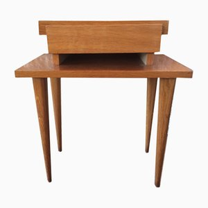 Table de Chevet Vintage de Capelle, France, 1980s
