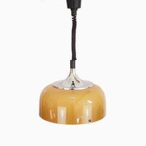 Italienische Vintage Deckenlampe mit ausziehbarem Kabel von Meblo, 1960er