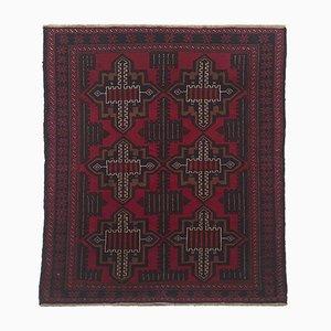 Afghanischer Mid-Century Teppich, 1950er