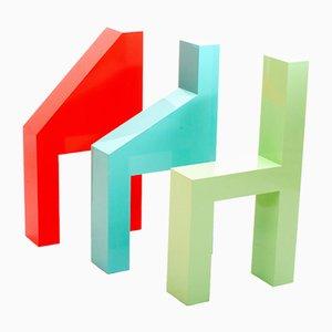 Esculturas Chanimals de Studio Eyal Burstein. Juego de 3