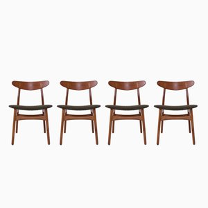 CH30 Dining Chairs by Hans J. Wegner for Carl Hansen & Søn, Set of 4