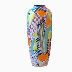 Vaso RipBus in porcellana di Gur Inbar