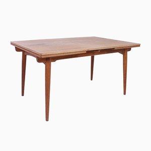 Tavolo da pranzo AT312 Mid-Century in quercia di Hans J. Wegner per Andreas Tuck