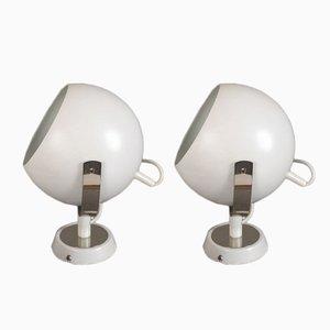 Lámparas de pared vintage de Peil & Putzler. Juego de 2
