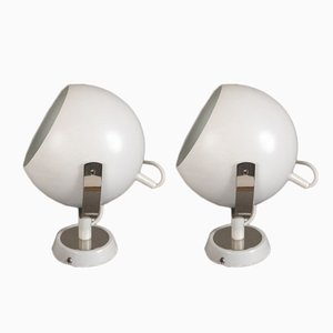 Vintage Wall Lights from Peil & Putzler, Set of 2