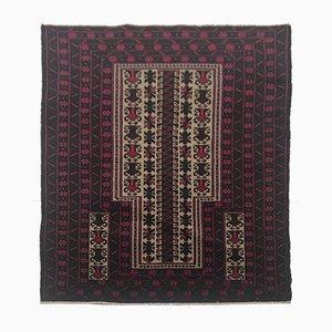 Alfombra afgana vintage, años 50