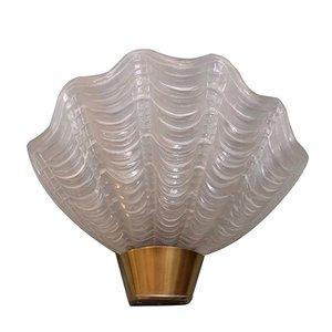 Lámpara de pared Coquille de ASEA, años 50