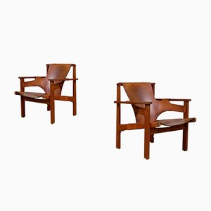 Trienna Easy Chairs by Carl-Axel Acking, 1950s, Set of 2