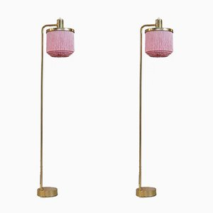 G-109 Floor Lamps by Hans-Agne Jakobsson, 1960s, Set of 2