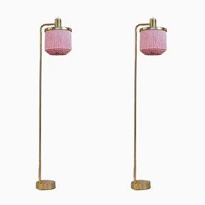 Lámparas de pie G-109 de Hans-Agne Jakobsson, años 60. Juego de 2