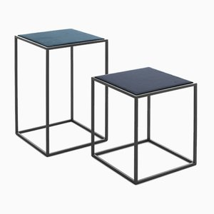 Gotham Side Tables by Federico Carandini for Epònimo, Set of 2