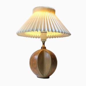 Lampe de Bureau Vintage en Céramique par Heico Nietzsche pour Søholm, Danemark, 1970s