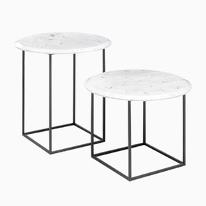 MT Side Tables by Federico Carandini for Epònimo, Set of 2