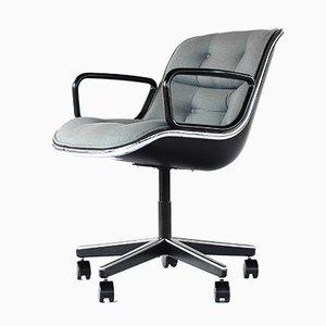 Chaise de Bureau Vintage par Charles Pollock pour Knoll International, 1960s