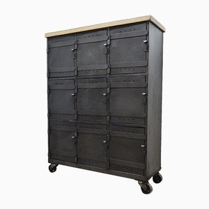 Vintage Industrial Locker, 1950s