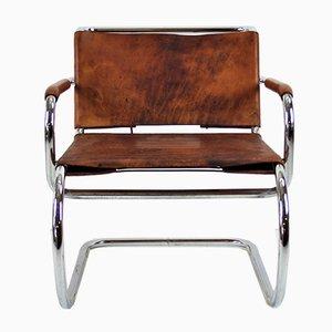 Vintage Freischwinger Sessel