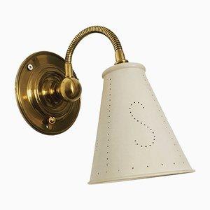 Italienische Schwanenhals Wandlampe, 1950er