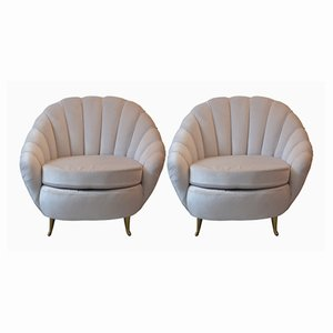 Vintage Lounge Chairs from ISA, Set of 2