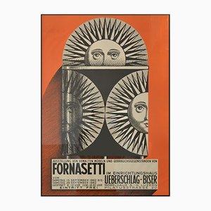 Fornasetti Ausstellungsposter, 1962