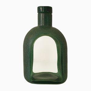 Botella posmoderna de Toni Zuccheri para Barovier & Toso, años 80