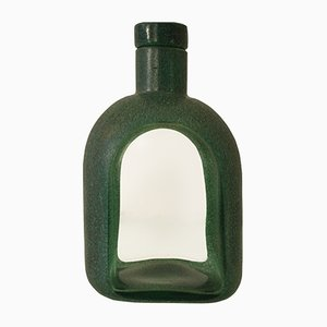 Bottiglia postmoderna di Toni Zuccheri per Barovier & Toso, anni '80