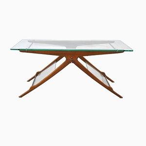Tavolino da caffè Mid-Century di Cesare Lacca, Italia, anni '50