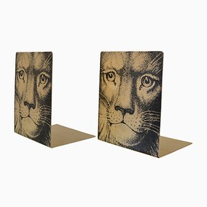Vintage Bookends by Atelier Fornasetti, Set of 2