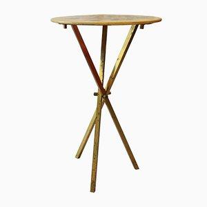 Petite Table d'Appoint avec Motif Floral par Atelier Fornasetti, 1950s