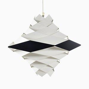 Lampada da soffitto Symfoni di Preben Dahl per Hans Følsgaard Elektro A/S, anni '60